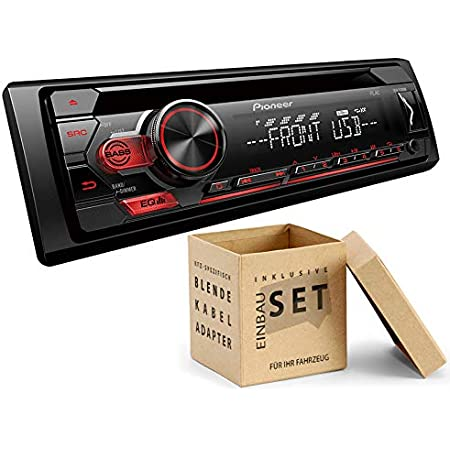 Pioneer Deh S110ub 1 Din Autoradio Mit Cd Usb Aux Für Elektronik