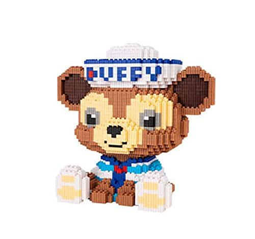 BAIDEFENG Mini Bausteine Cartoon Stellalou Bausteine Spielzeug Nette Disney Puppe Modell Micro Ziegelsteine 3D Puzzle DIY Spielzeug Geschenk Für Kinder Erwachsene, Farbpaket Box,D