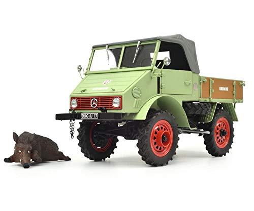 Simba Dickie 450014700 Unimog 401 mit Wildschwein 1:18