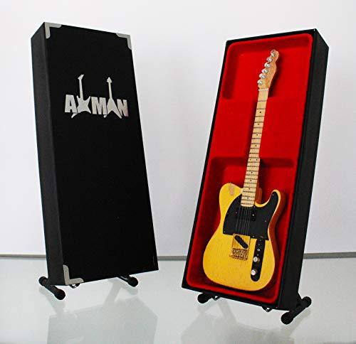 Keith Richards (The Rolling Stones): 1953 Telecaster 'Micawber' – Miniatur-Gitarren-Nachbildung
