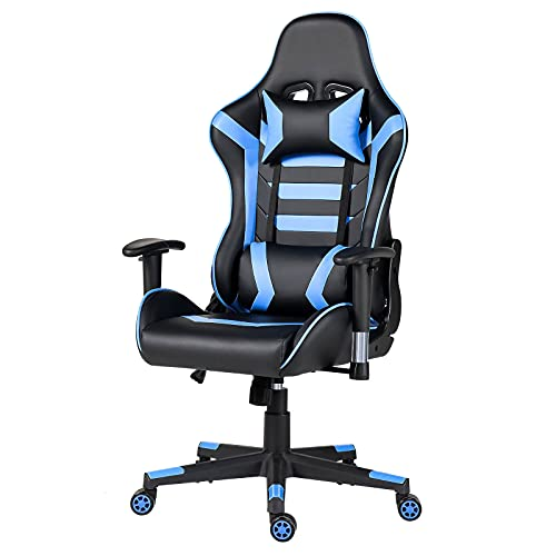 Gaming Chair Computer Game Chair - Ergonomic Office Chairs Adjustable Swivel Multifunctional Desk...