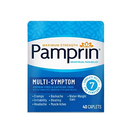 Pamprin Multi-Symptom Formula, with Acetaminophen,...