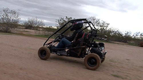 Coleman Powersports Off Road Go Kart | Gas Powered, 196cc/6.5hp, Red |...