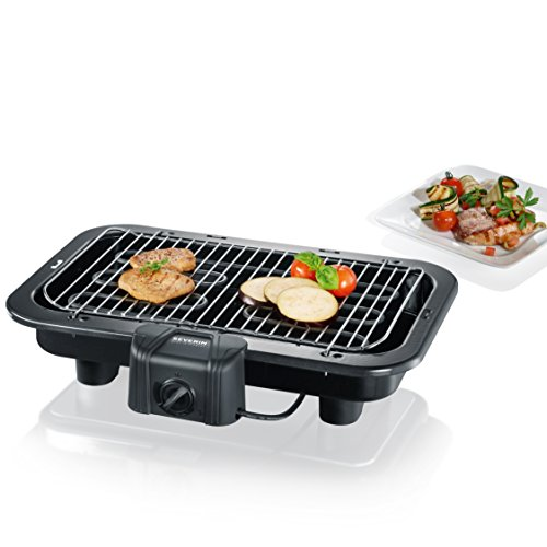 SEVERIN Gril Barbecue, Gril de table, Surface du...