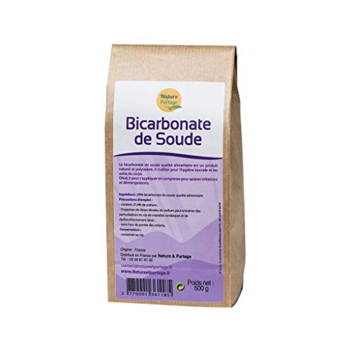 Bicarbonato di sodio ad uso alimentare.