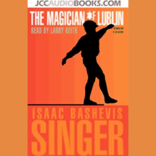 The Magician of Lublin audiobook cover art