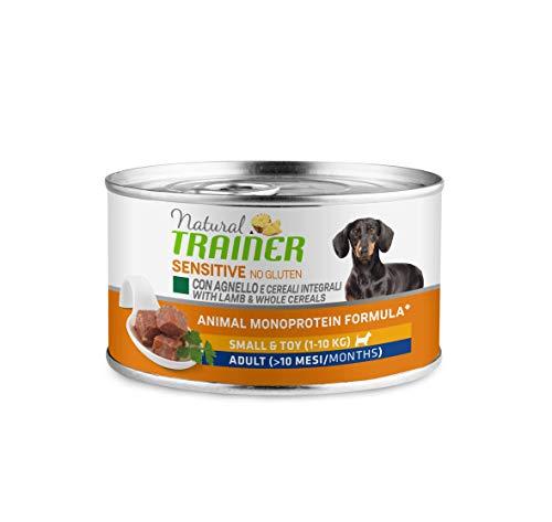 Trainer Natural Sensitive No Glutine - Paté per Cani Mini-Toy Adulti con Tacchino 24 x 150g - 3,6kg