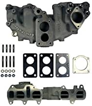 LC Engineering 1032061-C - Offenhauser Performance Downdraft Intake Manifold 22R Dual Plane Weber Carb. Flange