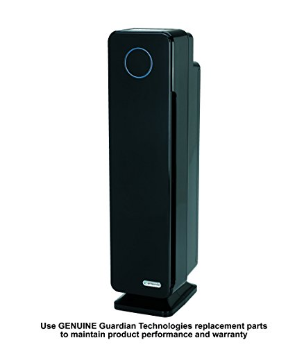 Germ Guardian Large Room Air Purifier, HEPA Filter, Large Rooms, Filters Allergies, Pollen, Smoke, Dust, Pet Dander, UVC Sanitizer Eliminates Germs, Mold, Odors, Quiet 28 inch 4-in-1 AC5350B