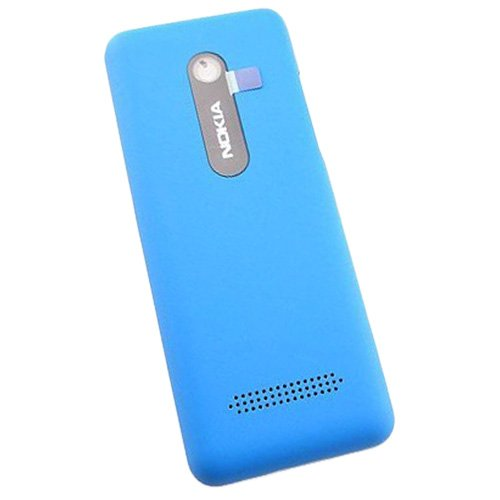 Nokia 206 Single Sim Copri Batteria originale ciano