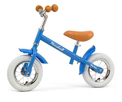 MILLY MALLY Marshall Air - Bicicleta sin pedales para niños, color azul