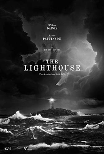 Lionbeen The Lighthouse - Movie Poster - Filmplakat 70 X 45 cm (NOT A DVD)