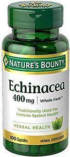 Nature's Bounty Echinacea 400 mg Capsules 100 ea (Pack of 6)