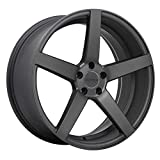 Ruffino Boss ALLOY WHEEL/RIM Matt Anthracite SIZE 19x8.5 INCH BOLT PATTERN 5x127 OFFSET 35 CENTER BORE 74.1 CENTER CAPS INCLUDED, LUG NUTS NOT INCLUDED (RIM PRICED INDIVIDUALLY)