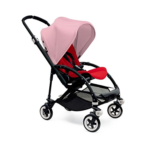 Great Features Of Bugaboo Bee3 Complete with Black Base and Red Seat in Soft Pink