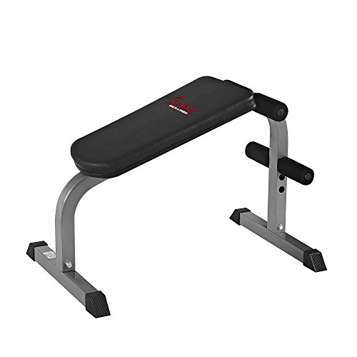 Sunny Health & Fitness SF-BH6502 Heavy Duty Sit-Up Bench