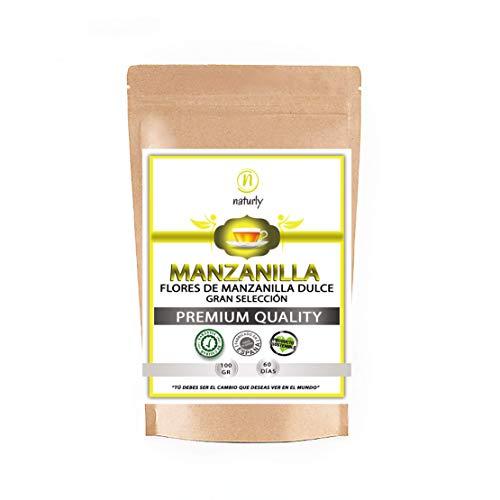MANZANILLA DULCE NATURAL EN FLOR - Flores dulces de manzanilla natural para preparar infusiones relajantes, infusiones para dormir y para la digestión. Flores secas Naturales de Manzanilla