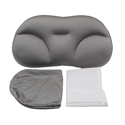 CCNN All-Round Sleep Pillow, Fast Sleep Comfortable Pillow, Memory Foam Butterfly Shaped Ergonomic Pillow Gray