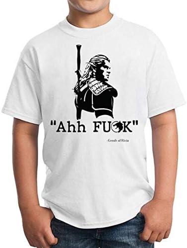 Ahh The Witcher Geralt Unisex Kids T-Shirt Children's Camiseta