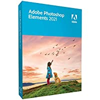 Adobe Photoshop Elements 2021 (DVD, Mac/Windows)