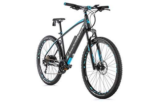 29 Zoll Leader Fox Arimo E-Bike Elektro Fahrrad MTB Pedelec Herren 16Ah RH 54cm schwarz blau