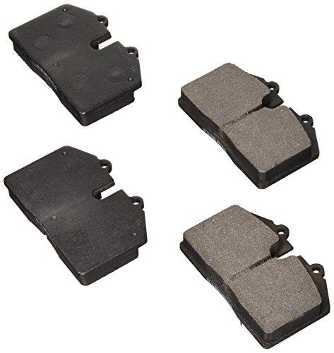 Bosch BE345 Blue Disc Brake Pad Set for Select Ferrari 348, 456, 512, 550, F355, GTO; Maserati Coupe, Gran Sport; Porsche 911, 928, 944, 968 - FRONT or REAR