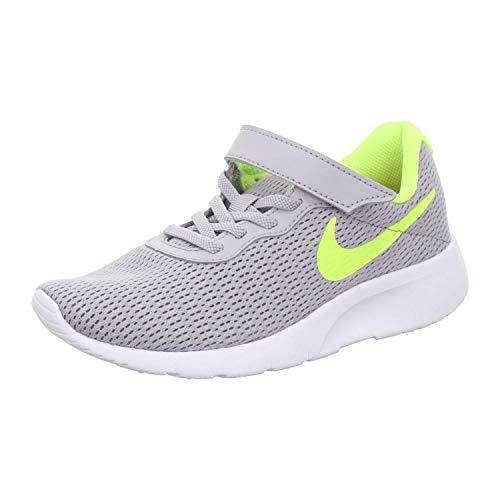 Nike Tanjun (PSV) Leichtathletikschuhe, Mehrfarbig (Wolf Grey/Volt/Rush Pink 000), 33 EU