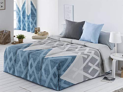 Sansa - Conforter AMAN Cama 150 - Color Azul