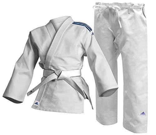 adidas White 350g Student Martial Arts Club Judo Uniforme – Blanco 350 g Estudiante Artes Marciales Gi, Unisex, 170