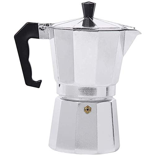 Espressokocher,30 ml 1 Tasse Aluminium...
