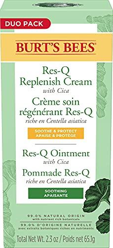 Burt's Bees Res-Q Salbe und Creme, 100% natürlich, Mehrzweck-Salbe und -creme, Doppelpack