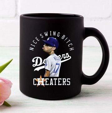 Nice Swing Bitch Joe Kelly Dodgers Coffee Mug