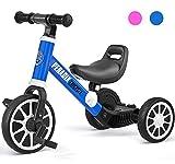 Peradix 3 in 1 Triciclo per Bambini | Triciclo Bambini 1 anno con Pedali |Bici Senza Pedali 2 Anni |...