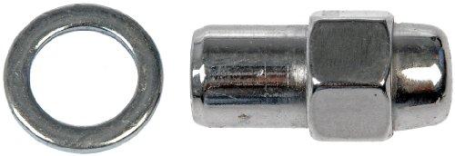 Dorman 611-108-BP Mag Wheel Nut - M12-1.50, 13/16 In. Hex, 1.672 In. Length, Pack of 200