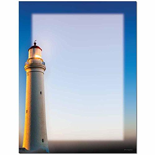 Lighthouse Letterhead Laser & Inkjet Printer Paper, 100 pack