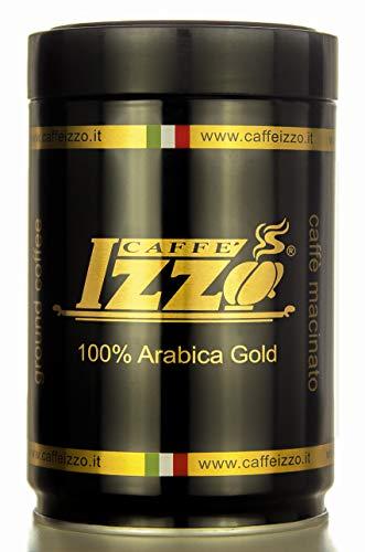 IZZO Espresso - 100 % Arabica Gold geröstete Kaffeebohnen, 250 g