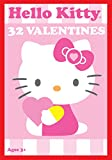 Paper Magic 32CT Showcase Hello Kitty Kids Classroom Valentine Exchange Cards