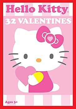 Paper Magic 32CT Showcase Hello Kitty Kids Classroom Valentine Exchange Cards