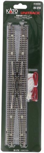 KATO Nゲージ 複線両渡りポイント ダブルクロス 20-210 鉄道模型用品