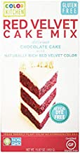 ColorKitchen Gluten-Free Red Velvet Cake Mix - with Natural, Organic, Plant-Based Ingredients