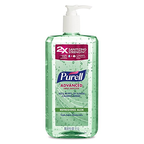 PURELL Advanced Instant Hand Sanitizer with Aloe xezMPz, 1...
