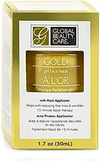 Global Beauty Care Gold Gel Face Mask, 1.7 oz