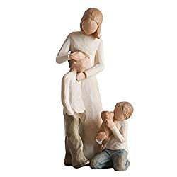 Set of 2 Figurines Willow Tree Mother & Son Figurine Willow Tree Kindness (Boy) Figurine