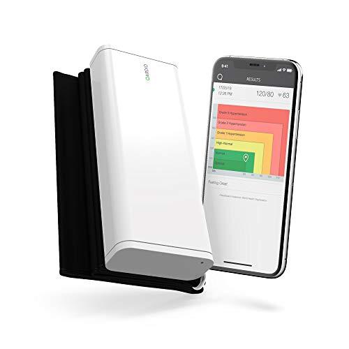 QardioArm Misuratore di Pressione Bluetooth per Apple iOS e Android, Bianco Artico