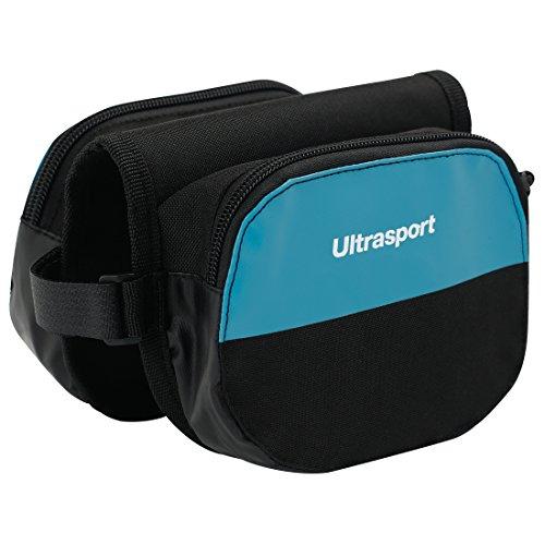 Ultrasport Bolsa doble para cuadro de bicicleta, bolsa para el tubo superior para llevar objetos personales, compatible con bicicletas de trekking, de carretera y de montaña