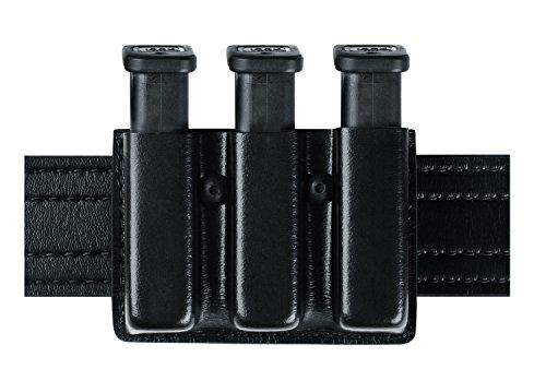 Safariland Duty Gear Glock 17 Open Top Slimline Triple Magazine Pouch (STX Black)