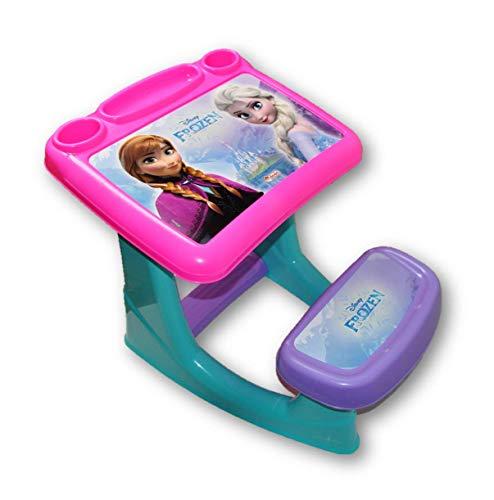 Dede - Escritorio para niñas FROZEN! La mesa para niñas más divertida que existe! para todas las manualidades Frozen, la forma ideal...