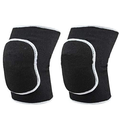 Genouillères épaisses unisexes en tissu respirant HugeStore pour le maintien des genoux, pour volley-ball, dance, etc.