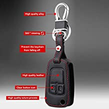Remote Control Leather Key Fob Case Replacement For Opel Astra J Corsa D Zafira
