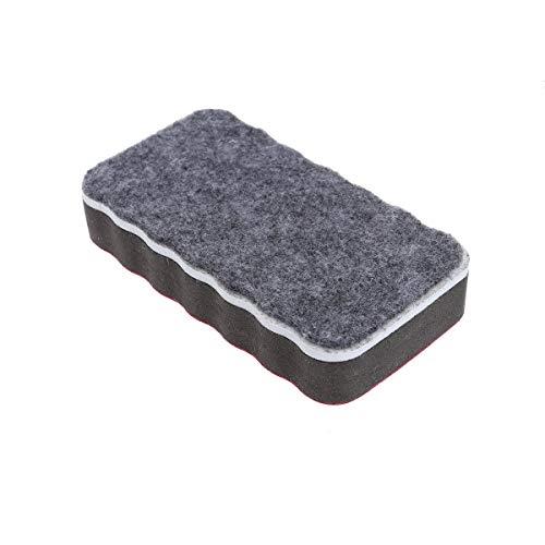 DDLONY Borrador magnético de Pizarra Blanca de 12 Piezas, Borrador magnético seco, borradores de limpiaparabrisas para el Aula, Oficina en casa